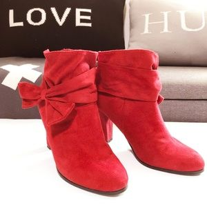 Impo red stretch ankle boots